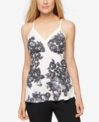A Pea In The Pod Floral Print Nursing Tank Top