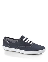 Keds Champion Cotton Canvas Sneaker Navy Canvas