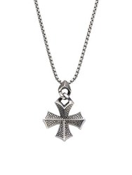 Stephen Webster Sterling Silver Cross Necklace