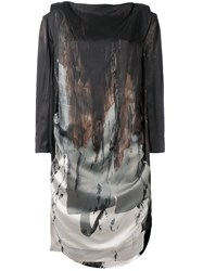 Vivienne Westwood Anglomania Printed Dress Multicolour