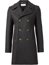 Saint Laurent Classic Peacoat Grey