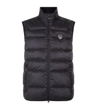 Armani Ea7 Down Quilted Gilet Male Black