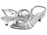 Touch Ups Penelope Silver Metallic High Heels