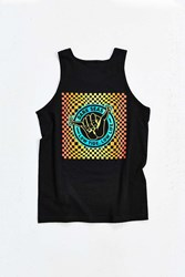 Dark Seas Hangin' Loose Tank Top Black