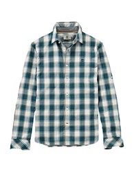 Timberland Long Sleeve Checkered Shirt Reflecting