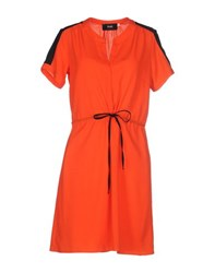 To May Dresses Short Dresses Women Coral