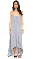 Lanston High Low Maxi Dress Heather