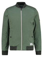 Tom Tailor Denim Bomber Jacket Light Spruce Green Khaki
