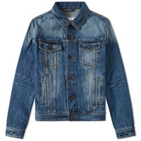 Ami Alexandre Mattiussi Denim Jacket Blue
