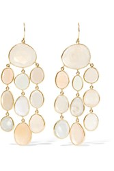 Pippa Small 18 Karat Gold Moonstone Earrings