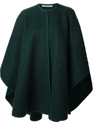 Yves Saint Laurent Vintage Blanket Coat Green