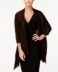 Inc International Concepts Tiny Pleated Wrap Only At Macy's Black