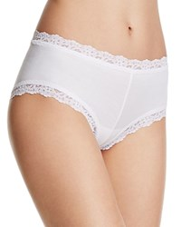 Hanky Panky Boyshorts Cotton With A Conscience 891281 White