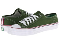 Pf Flyers Center Lo Re Issue Green Canvas Lace Up Casual Shoes
