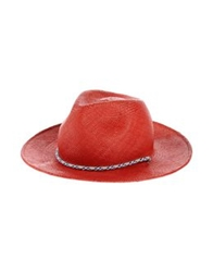 Opening Ceremony Hats Brick Red
