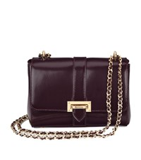 Aspinal Of London Lottie Bag Unisex Aubergine