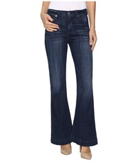 7 For All Mankind Tailorless Ginger In Bordeaux Broken Twill Bordeaux Broken Twill Women's Jeans Blue