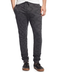 American Rag Aztec Print Jogger Pants Only At Macy's Charcoal Heather