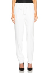 Calvin Klein Collection Dafne Cady Pants In White