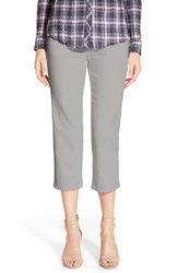 Women's Jag Jeans 'Echo' Pull On 5 Pocket Crop Pants Fog Grey