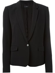 Joseph One Button Jacket Black