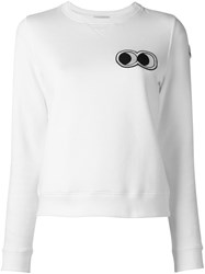 Moncler X Friendswithyou 'Look Who' Sweatshirt White