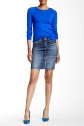 Ag Jeans Erin Distressed Pencil Skirt Multi