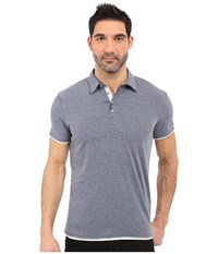 7 Diamonds The Ultimate S S Polo Lead Men's Short Sleeve Pullover Gray