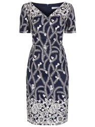 Fenn Wright Manson Rhea Dress Blue Silver