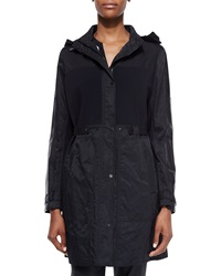 Elie Tahari Bianca Hooded Coat