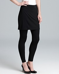 Eileen Fisher Petites Skirted Angle Leggings Black