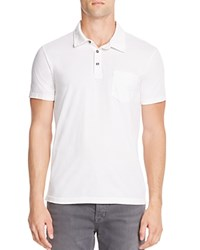 Splendid Mills Spring Pigment Dyed Regular Fit Polo Shirt Off White