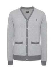 Peter Werth Colcross Cut Cardigan Silver