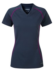Tog 24 Zola Womens Tcz Tech T Shirt Blue