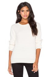 Ag Adriano Goldschmied Rylea Crew Neck Sweater Ivory