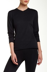 Asics Long Sleeve Tee Black
