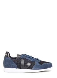 Veja Holiday Low Top Flannel Woven Sneakers Black
