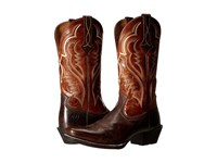 Ariat Bronc Buster Bitter Brown Two Tone Tan Cowboy Boots