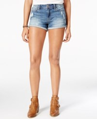 American Rag Ripped Ojai Wash Denim Shorts Only At Macy's