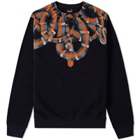 Marcelo Burlon Aconagua Crew Sweat Black