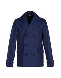 Christian Dior Dior Homme Coats And Jackets Jackets Men Dark Blue