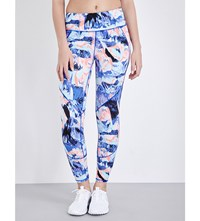 Sweaty Betty Power Run Leggings Lava Print
