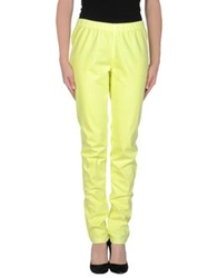 Pieces Casual Pants Acid Green