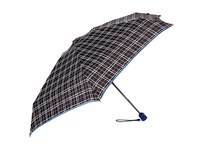 Vera Bradley Automatic Mini Umbrella Alpine Plaid Umbrella Navy