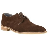 Kin By John Lewis Joel Suede Lace Up Derby Shoes Brown