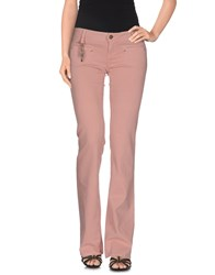 Jfour Denim Denim Trousers Women Pastel Pink