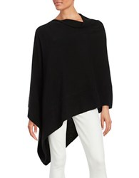 Lord And Taylor Cashmere Poncho Black