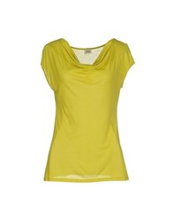 Siyu Topwear T Shirts Women Acid Green