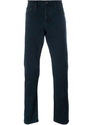 Burberry Brit Straight Leg Trousers Blue