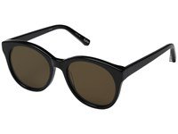 Elizabeth And James Foster Black Brown Mono Lens Fashion Sunglasses